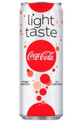 Coke Light í 0,33l kassi 20 stk
