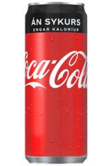 Coke Zero í 0,33 l dósum