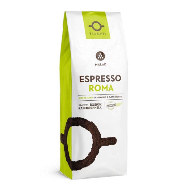 Te & Kaffi Espresso Roma Malað