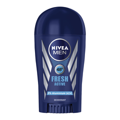 NIVEA Fresh Active Deo Stick 0% ACH 48h