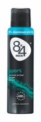 8x4 Sport Deo Sprey 0% ACH 48h
