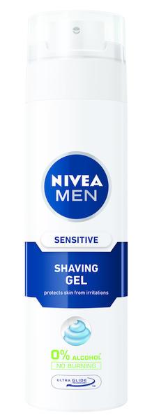 NIVEA Sensitive Shaving Gel