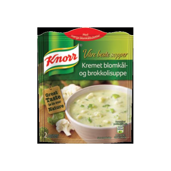 Knorr Súpa Rjóma Blómkál/Brokkolí bréf