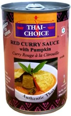 Thai Choice Red Curry with pumpkin