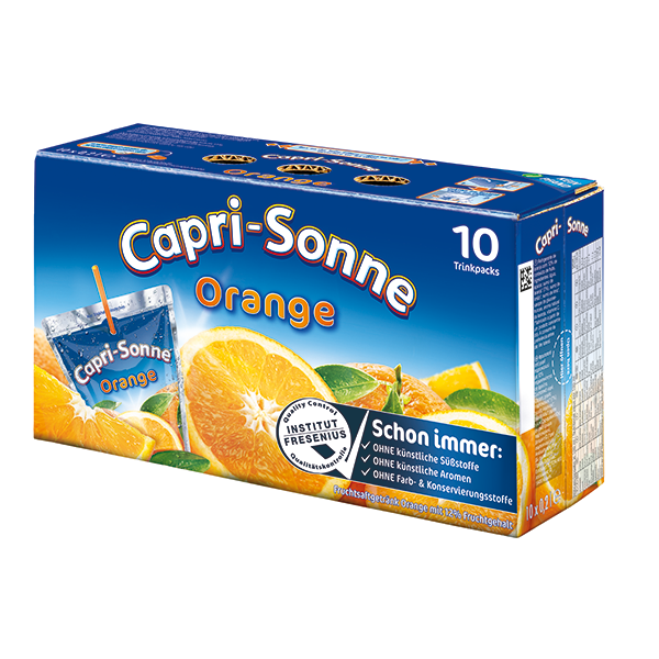 Capri Sonne Orange 200ml