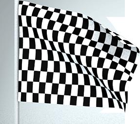 Bandera cuadros