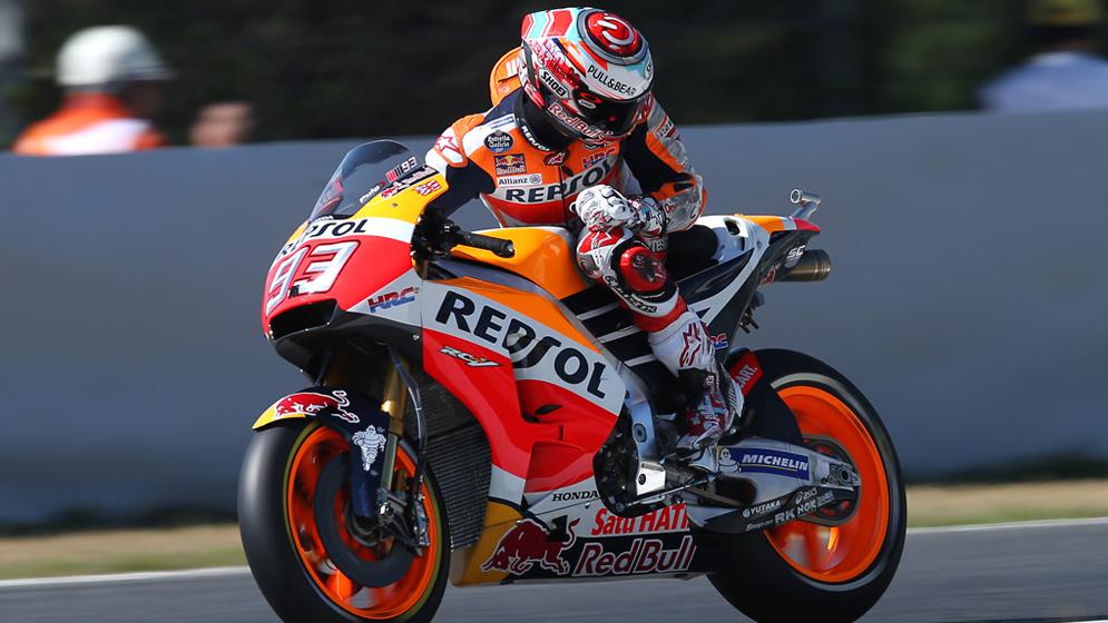 ¿Qué ocurre cuando hay bandera roja en una carrera de MotoGP?