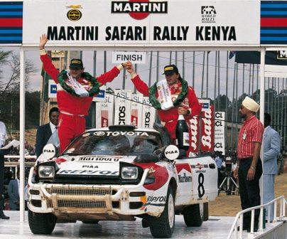 Carlos Sainz con Repsol Toyota en 1992