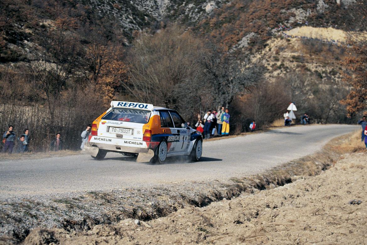 Carlos Sainz en Montecarlo sin nieve
