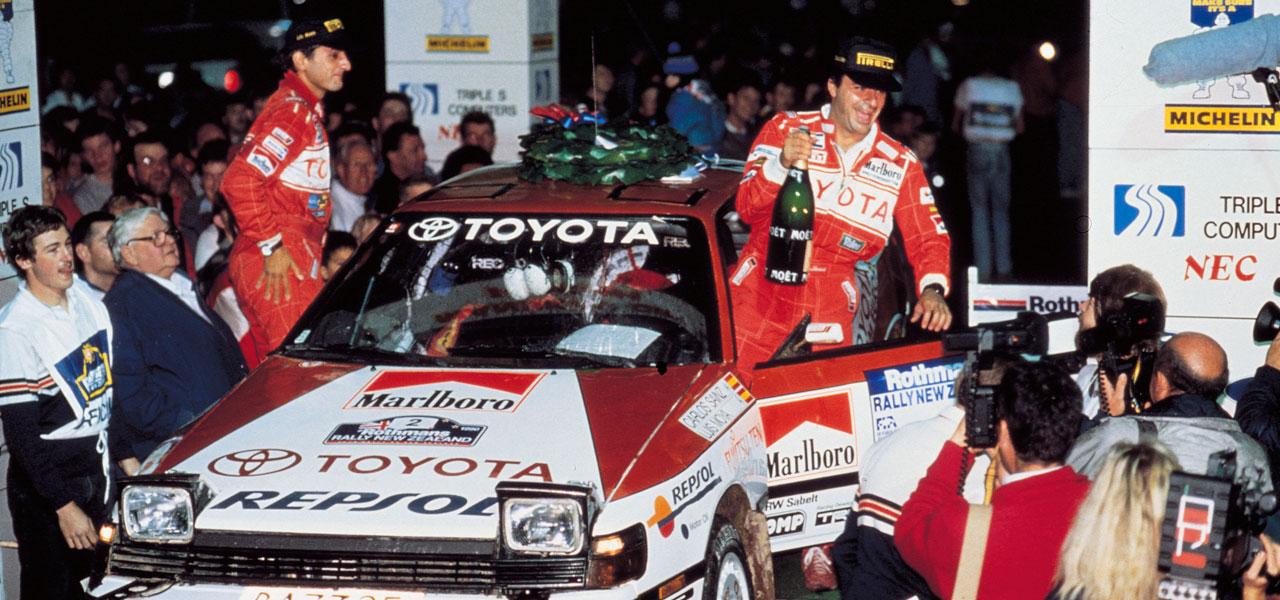 1990, el año en el que Carlos Sainz y Repsol ganaron el Mundial de Rallys