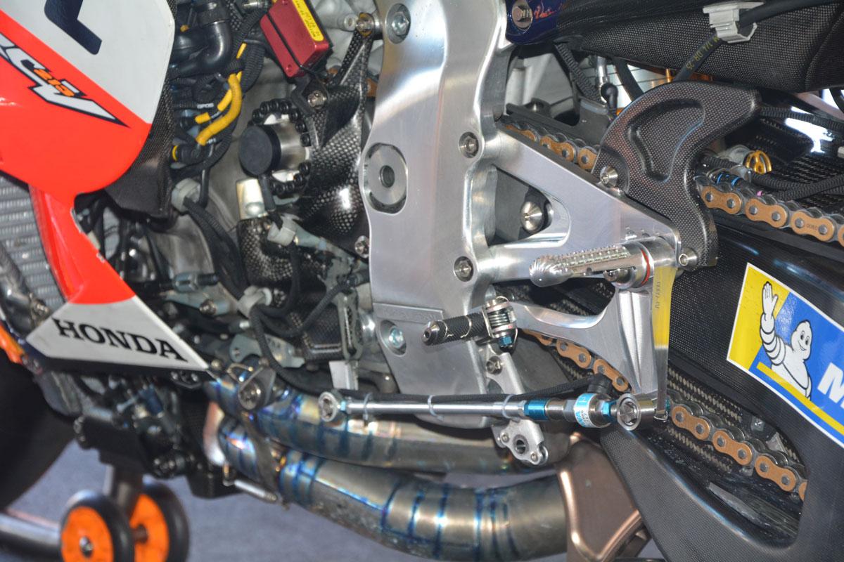 Detalle motor Honda