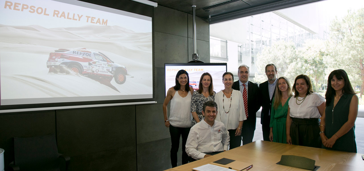 Isidre Esteve and Repsol to join forces once again for the next Dakar