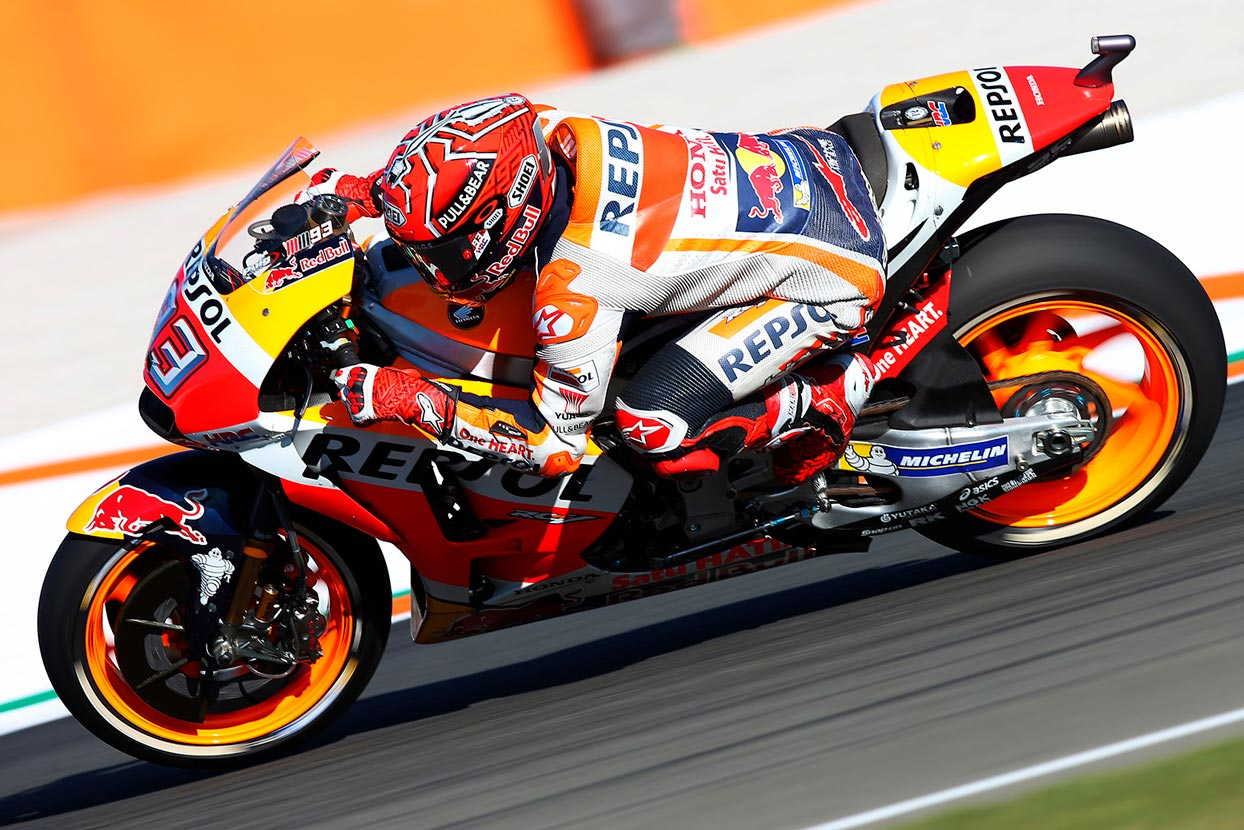 The lesser known challenges a rider faces during a MotoGP race: tyres and fuel