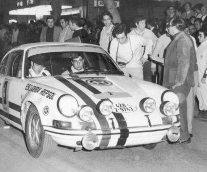 Lencina en Porsche 911