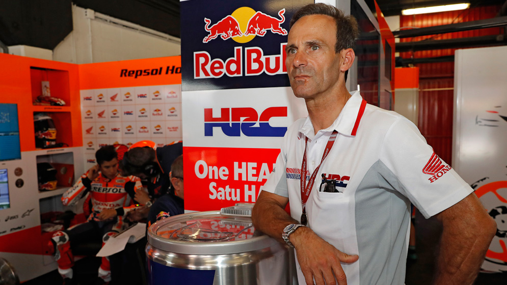 """""""Marc played his cards well: he chose the correct tyres, waited and then he used all his potential"""""""