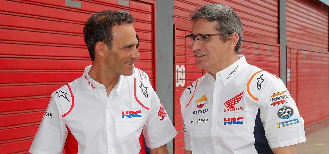 """Alberto Puig """"Our goal in Valencia will be to get the Triple Crown"""""""