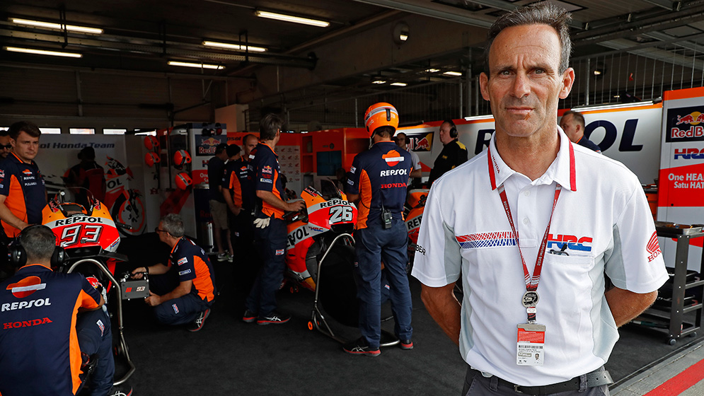 """The positive thing was that Márquez increased his lead in the World Championship"""