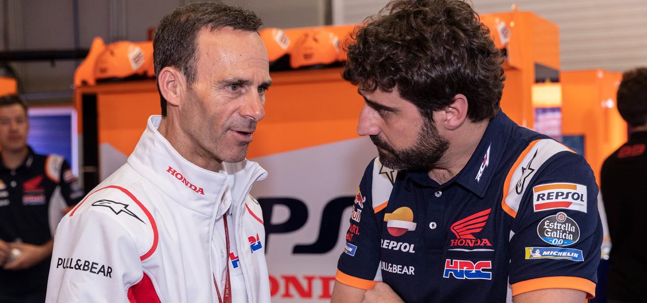 """Alberto Puig """"El objetivo es la victoria, pero el podio está muy bien"""""""