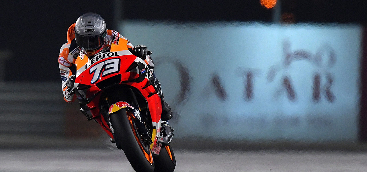 Repsol Honda Team maintain focus on second day of Qatar testing