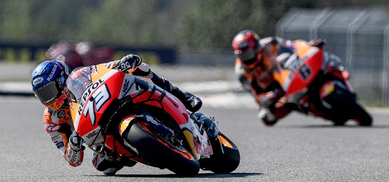 El equipo Repsol Honda vuelve a la acción en San Marino