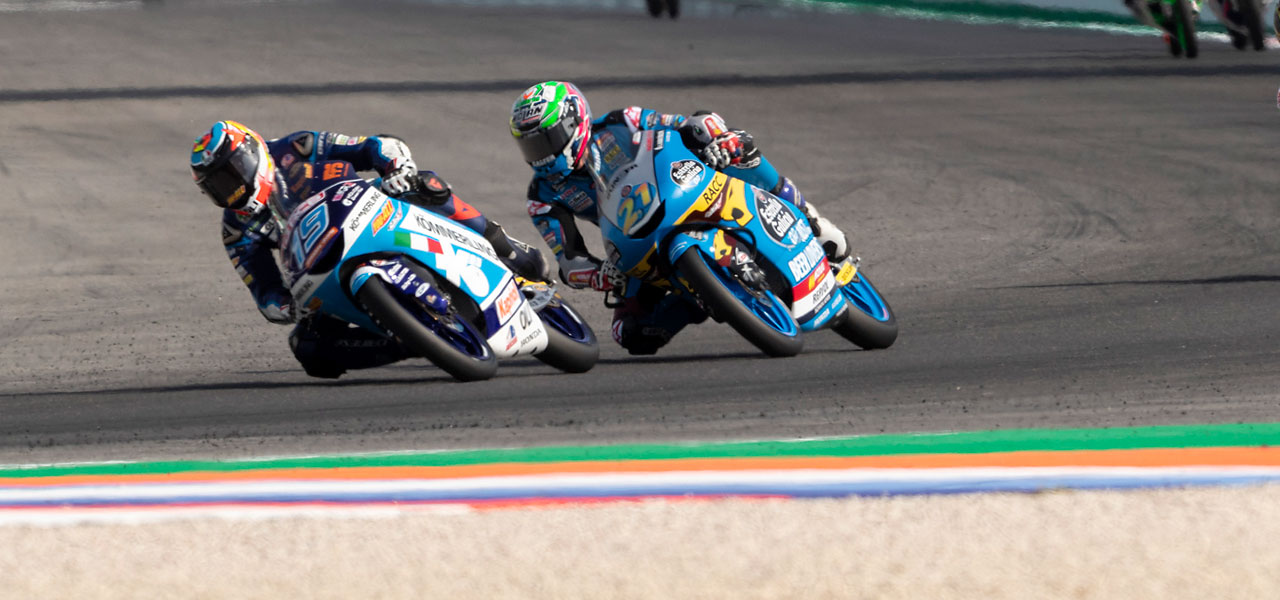 Sunday misfortune for López and García at Misano
