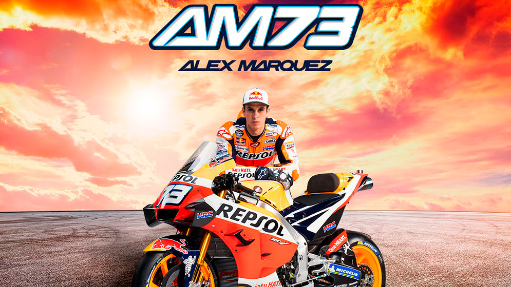 Wallpaper Álex Márquez 2020