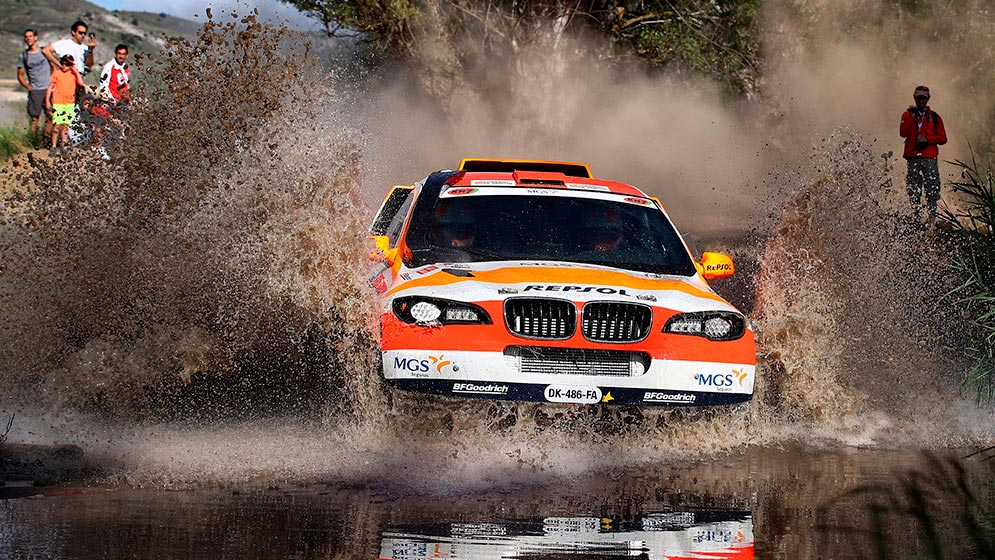 The Repsol Rally Team gets a podium finish in its category
