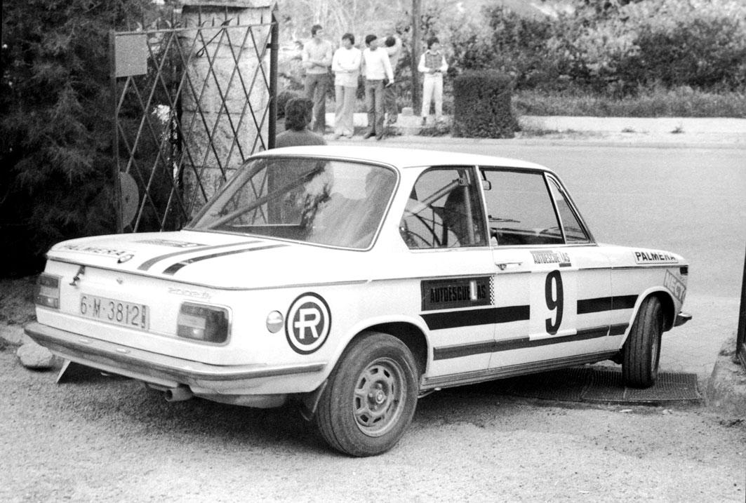 BMW clásico Repsol