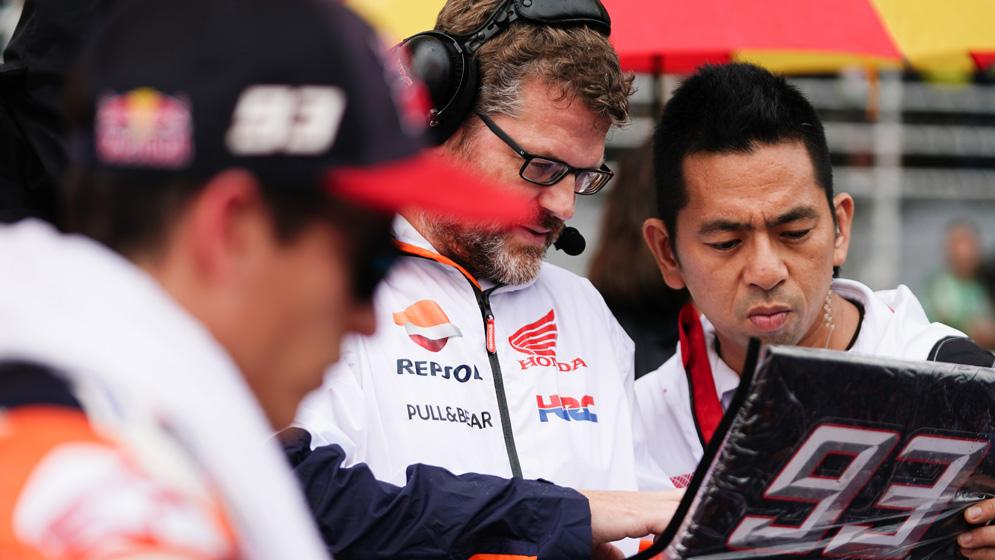 The secrets of MotoGP electronics
