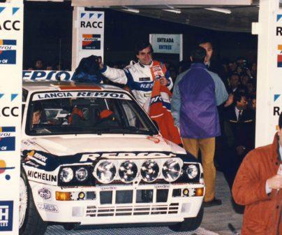Sainz participa en el Rally de Montecarlo
