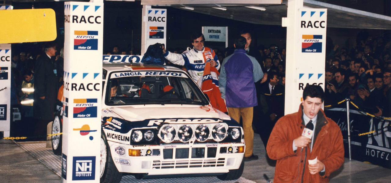 1993, el debut de Carlos Sainz en Lancia
