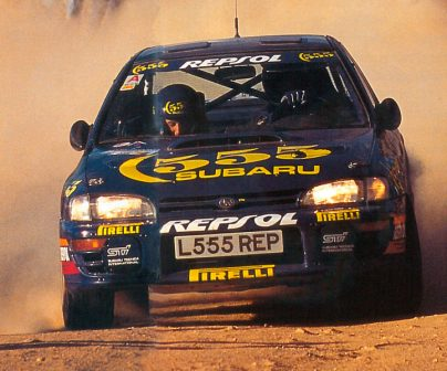 Carlos Sainz en el Rally de Argetina