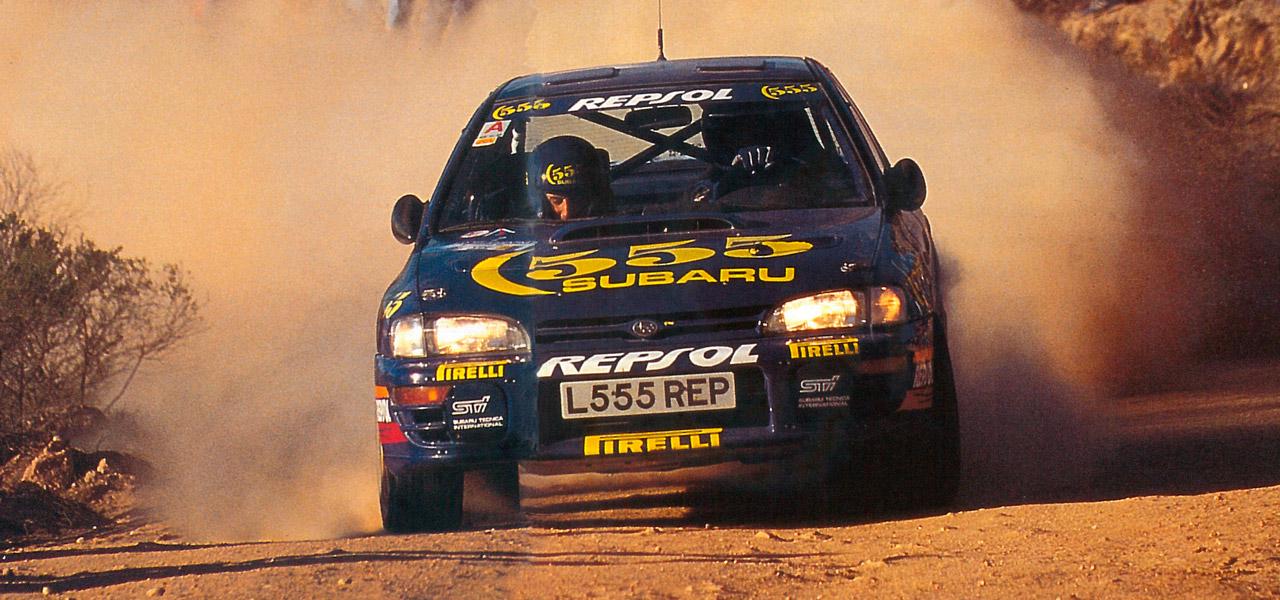1994: Carlos Sainz y el Subaru Impreza, un año intenso