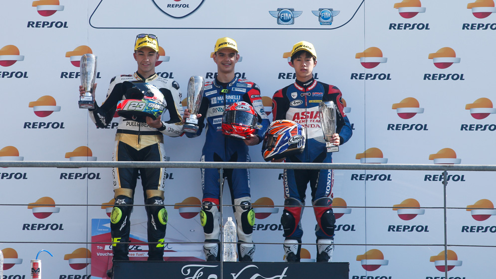 Aleix Viu takes his first win and Raul Fernandez increased his lead