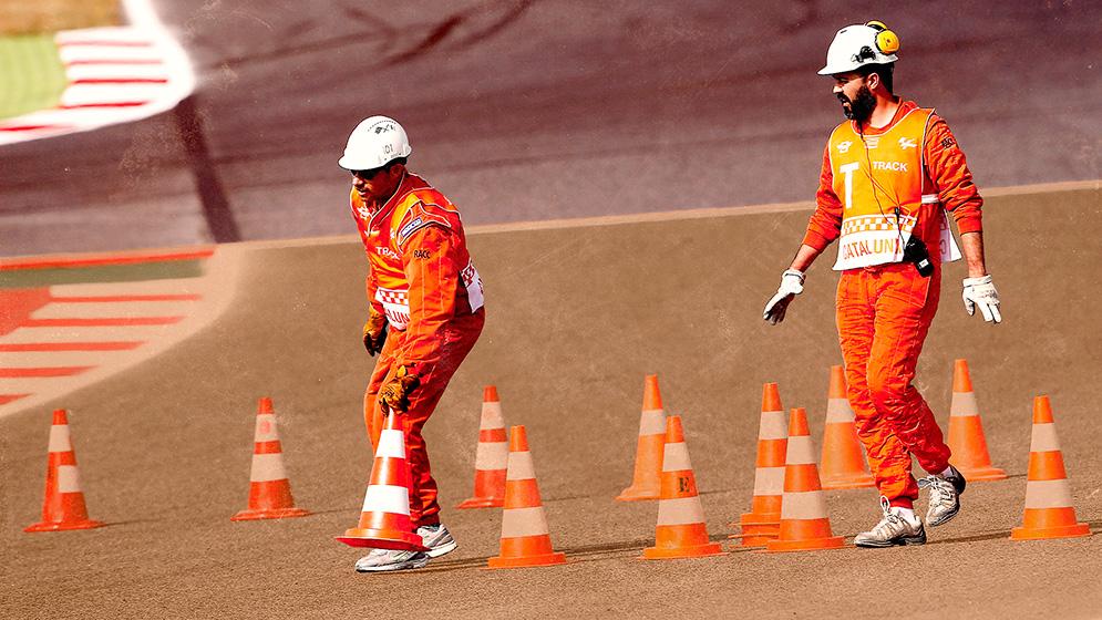 Los elementos de seguridad de MotoGP que salvan vidas en un circuito