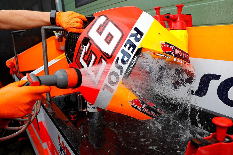 Cúpula MotoGP de Marc Márquez