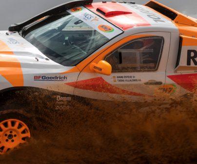 Coche Repsol Rally Team