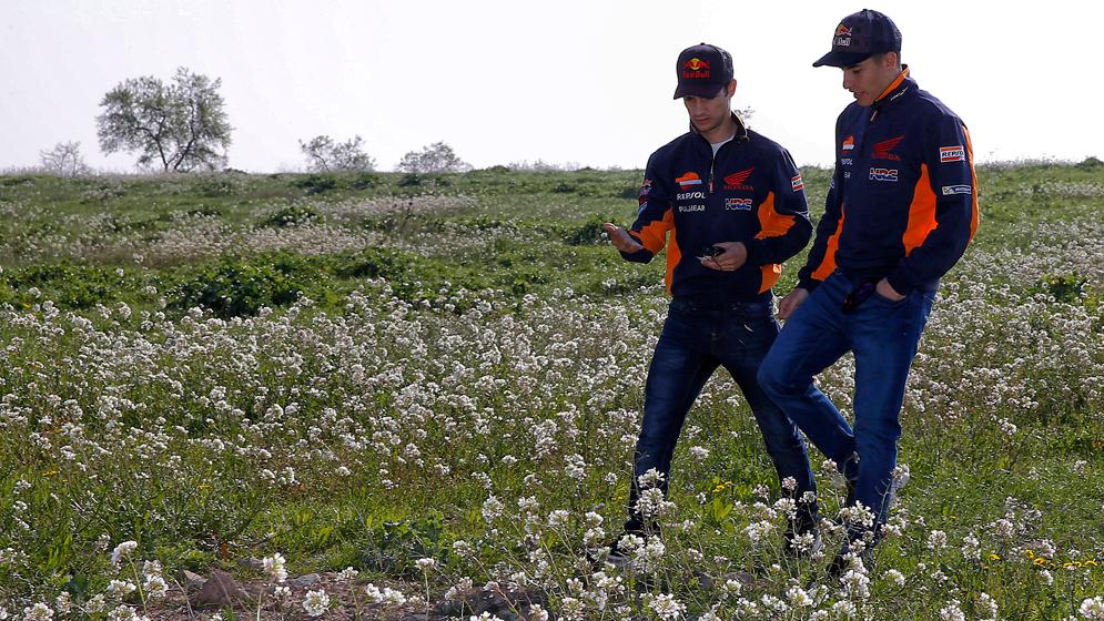 Las vacaciones de los pilotos del Equipo Repsol Honda