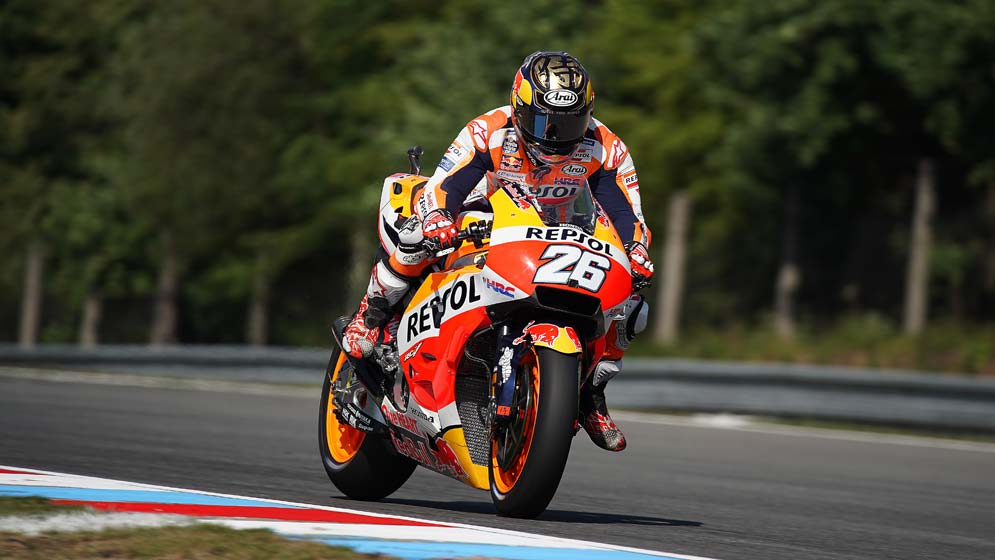 Dani Pedrosa leads the way on first day at Brno