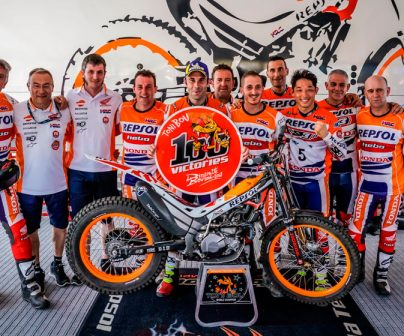 Toni bou reaches 100 victories