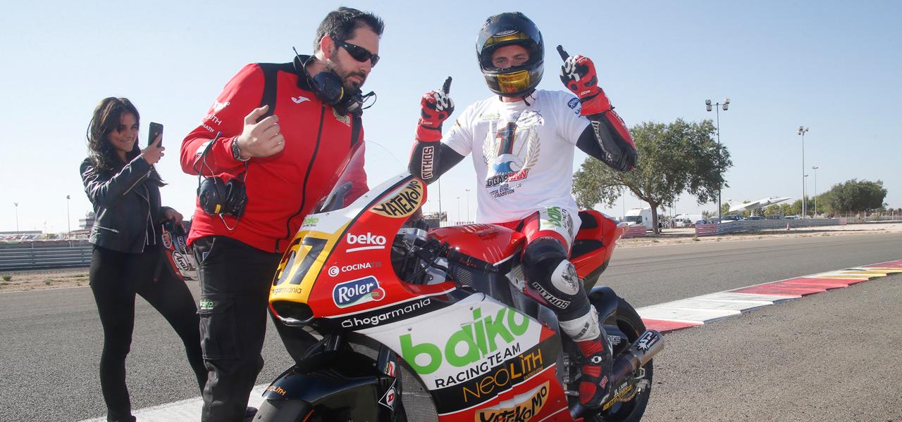El Campeonato Europeo de Moto2 corona a Edgar Pons en Albacete