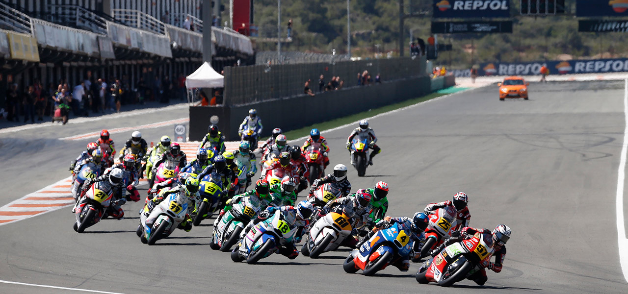 The FIM CEV Repsol arrives in Barcelona as an advance of the Catalan GP