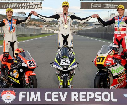 Jeremy Alcoba, Moto3 Junior World Champion at the FIM CEV Repsol>