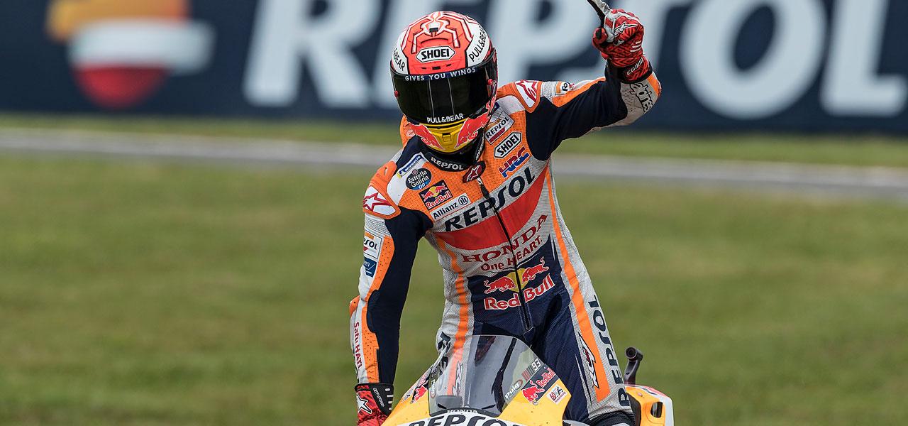 Las 55 victorias de Márquez en imágenes