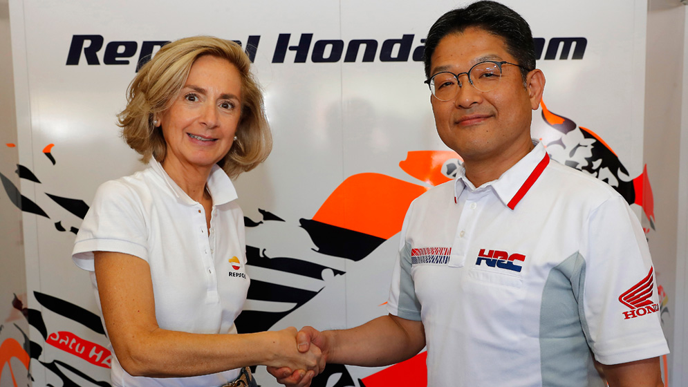 Repsol y Honda renuevan su alianza en MotoGP, que alcanzará los 25 años en 2019