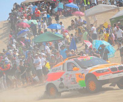Isidre Esteve supera la primera etapa extrema del Dakar