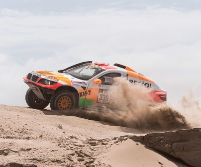 Isidre Esteve accomplishes his first major Dakar goal