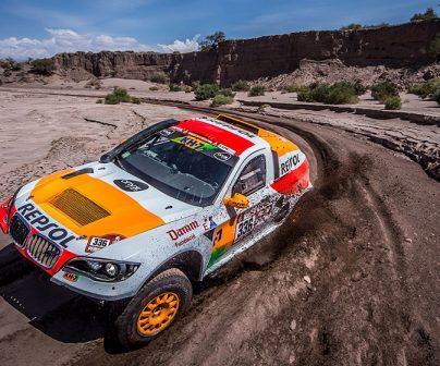 Isidre Esteve completes the longest special of Dakar 2018