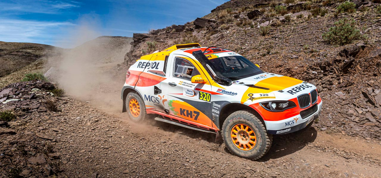 Isidre Esteve completes Dakar Rally first stage despite serious accident