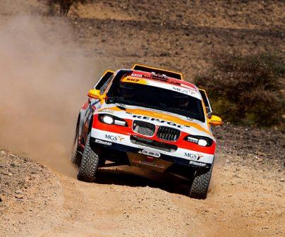 Isidre Esteve en el Rally de Marruecos